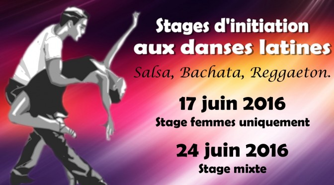 Stages d'initiation aux danses latines