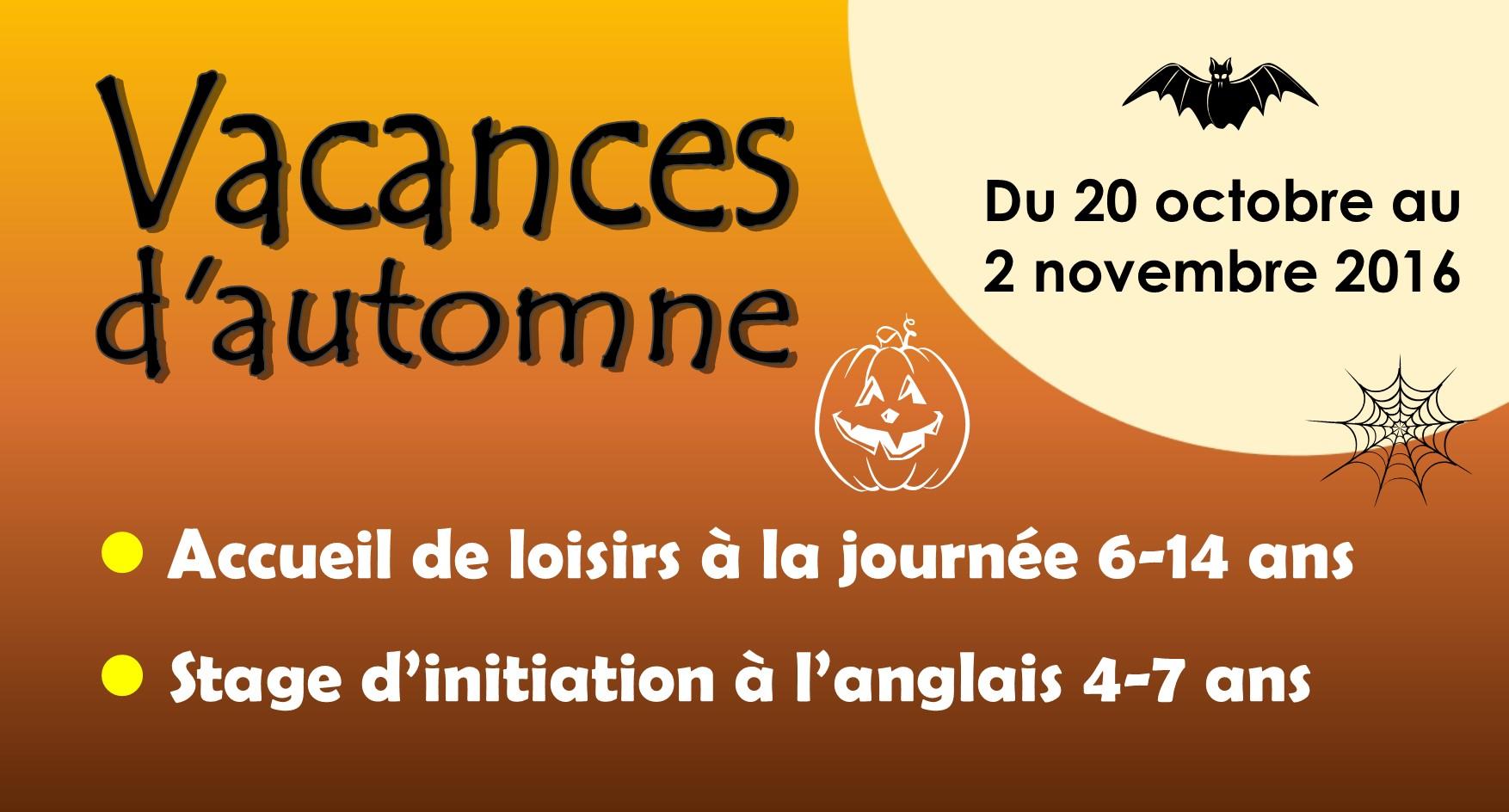 Programme des vacances de la toussaint mjc morteau - Vacances de la toussaint 2016 ...