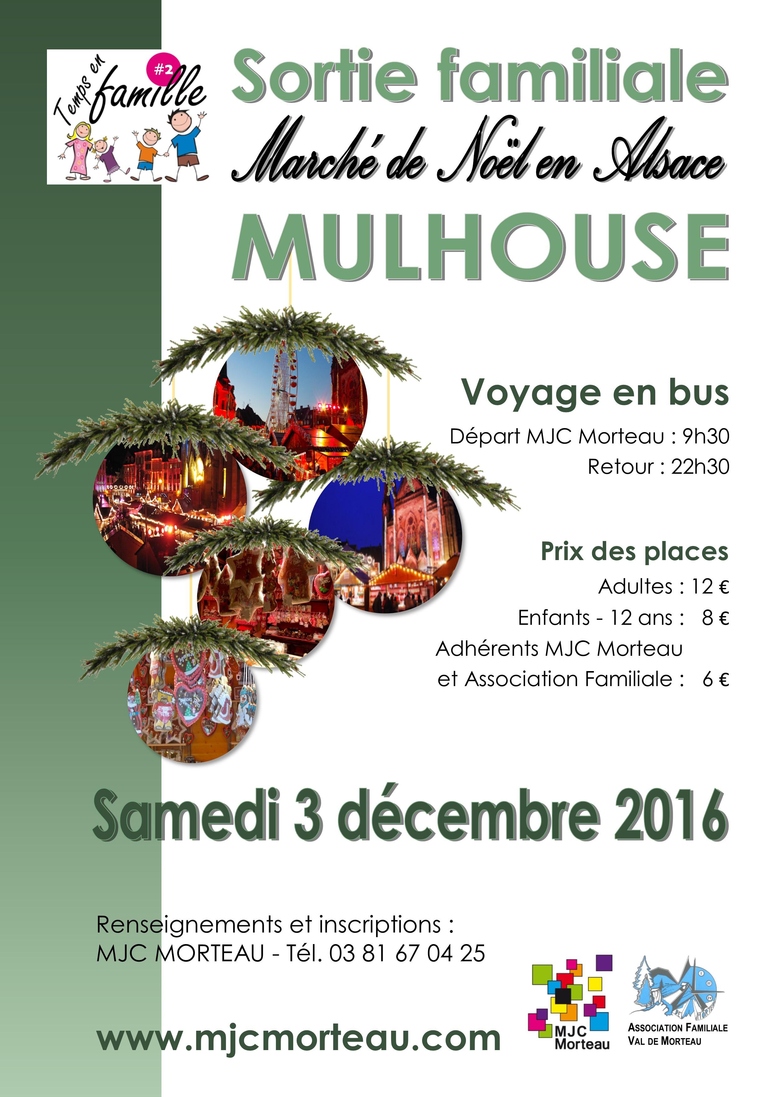 Sortie au march de no l de mulhouse mjc morteau - Marche de noel mulhouse 2016 ...