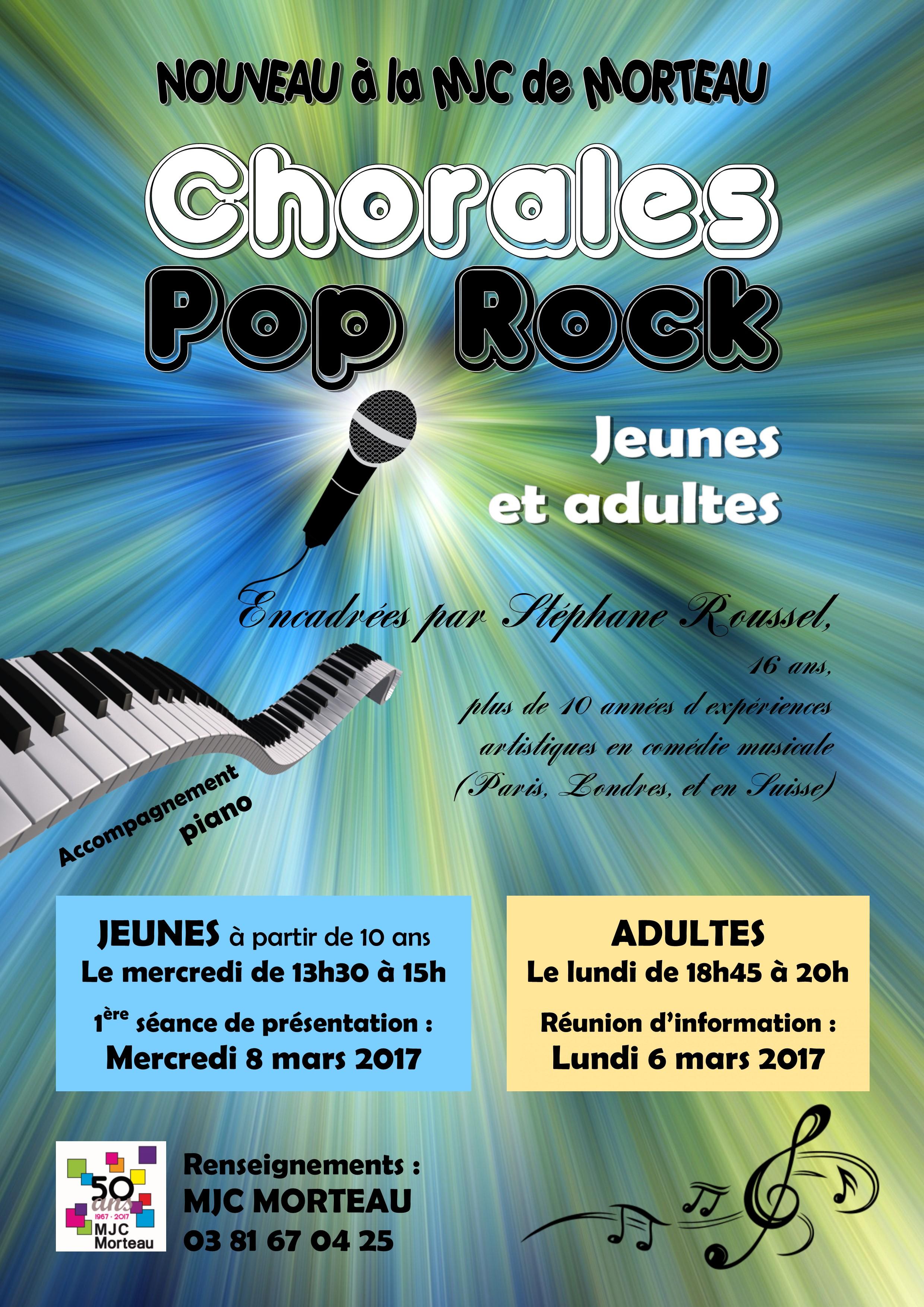 chorale pop rock