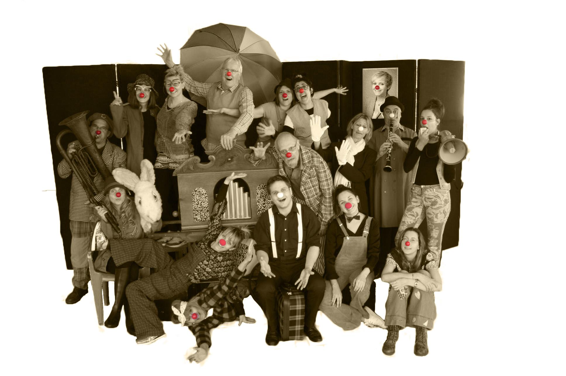 01 Photo Presse Clowneries et autres pitreries!