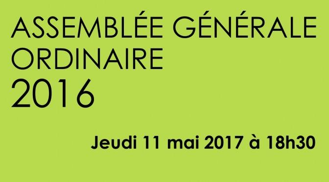 Assemblée Générale de la MJC : Jeudi 11 mai 2017