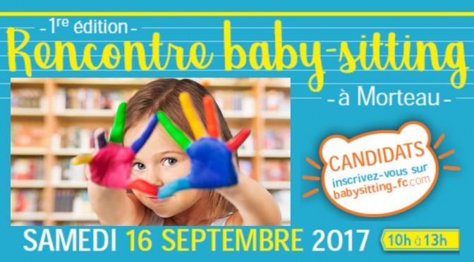 Rencontre baby-sitting – samedi 16 septembre 2017