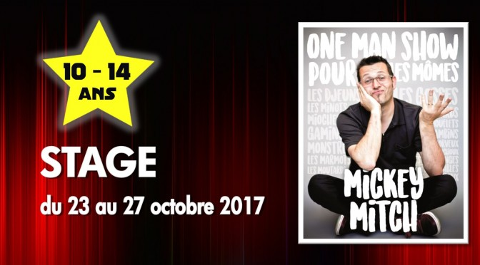 Stage avec Mickey Mitch