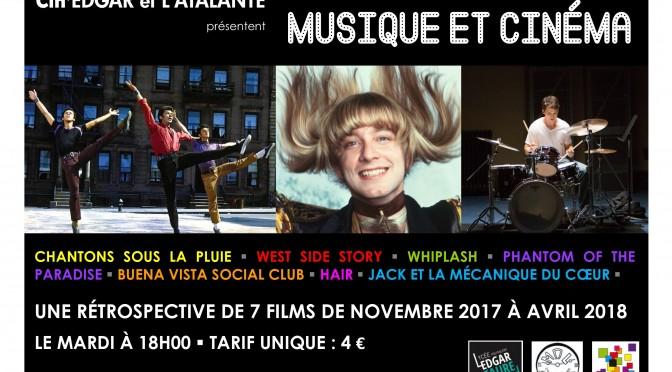 Cin'Edgar : Musique et Cinéma