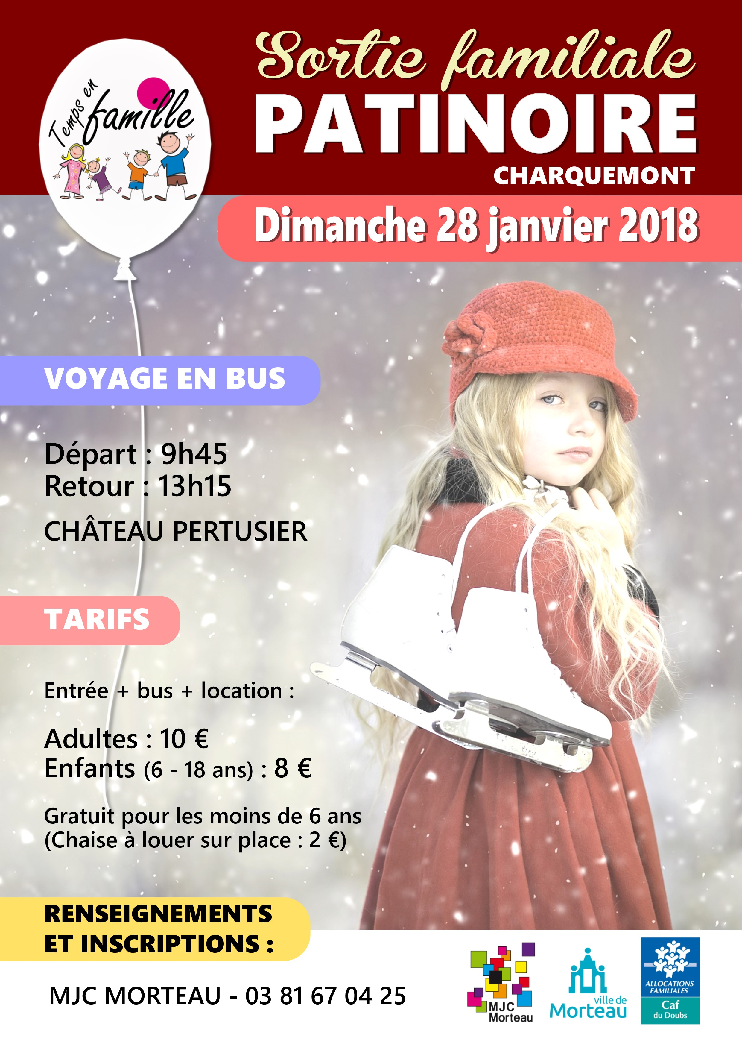 SORTIE PATINOIRE 28-01-2018