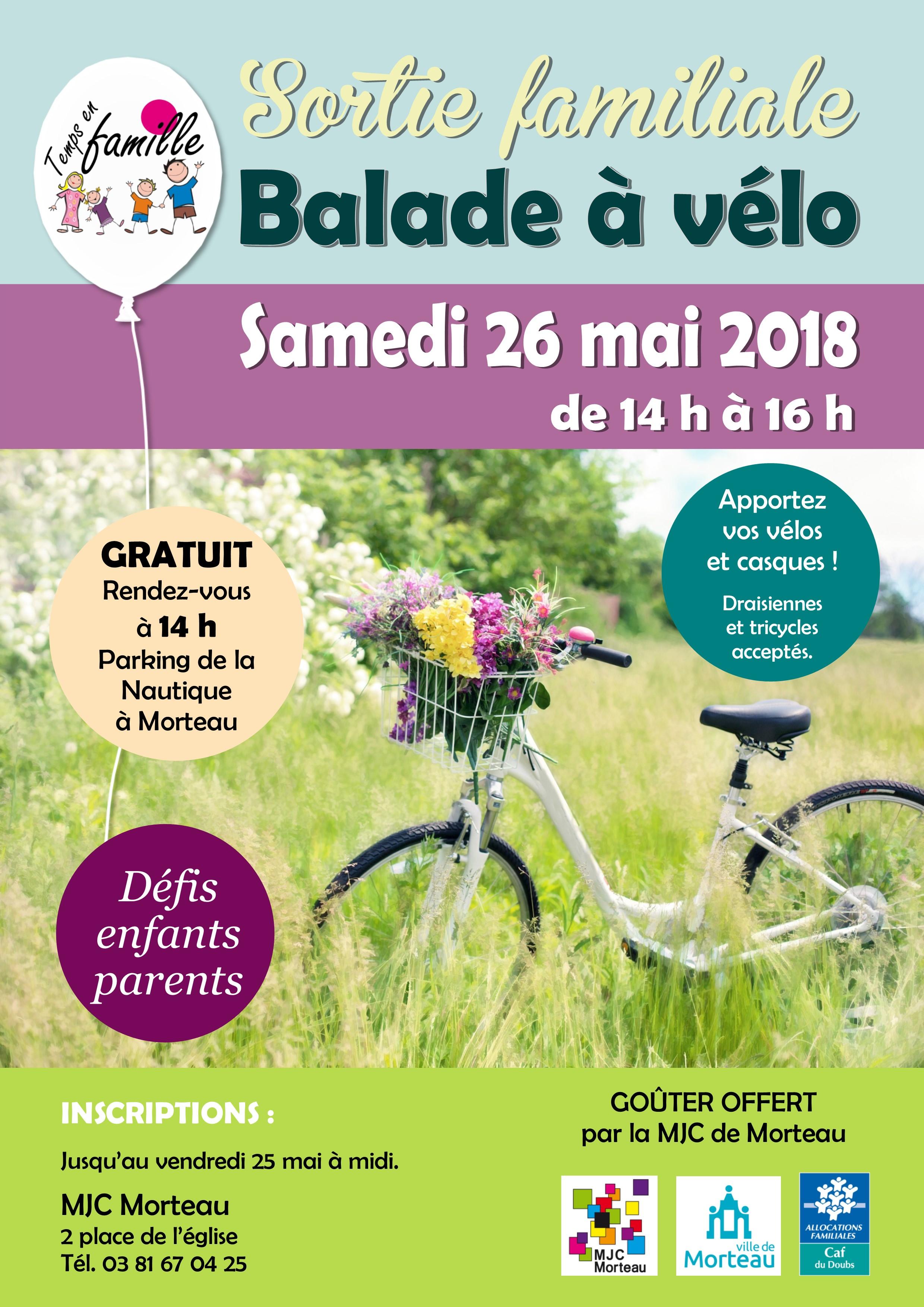 BALADE A VELO - MAI 2018