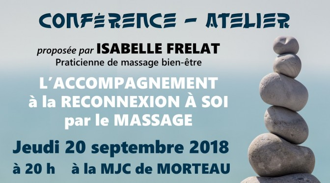 Conférence-Atelier – Jeudi 20 septembre 2018