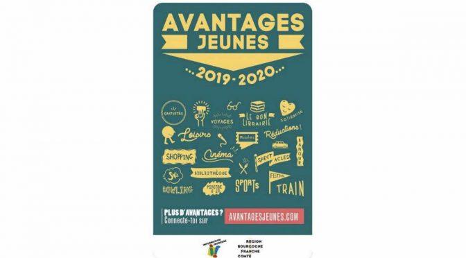 Carte Avantages Jeunes 2019/2020