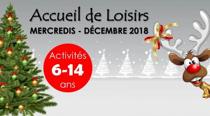 Programme des mercredis de décembre